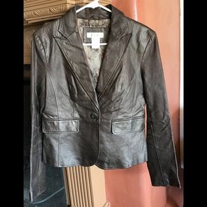 Sharp Lookin Leather Jacket! SZ S